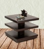 Lacanoia Coffee Table in Espresso Walnut Finish by Woodsworth