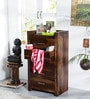 Edmonds Tall Chest of Five Drawers in Provincial Teak Finish by Woodsworth