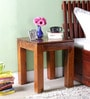 Palmyra End Table in Honey Oak Finish by Woodsworth