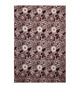 Maroon Cotton 72 x 48 Inch Multi Purpose Heavy Quality Jacquard Area Rug by Saral Home