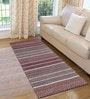 Saral Home Multicolour Cotton 72 x 28 Inch Premium Quality Multi Purpose Rug - Set of 2