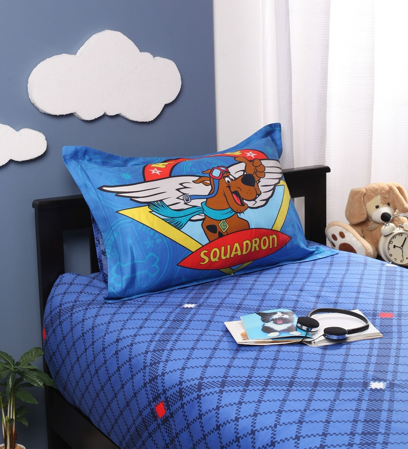 Scooby-Doo Single Bedsheet by Portico New York