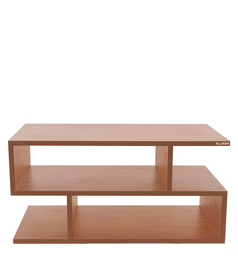 Buy Scribble Coffee Table In Cherry Colour By Klaxon