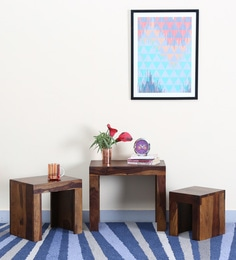 Acropolis Set Of Tables In Provincial Teak Finish