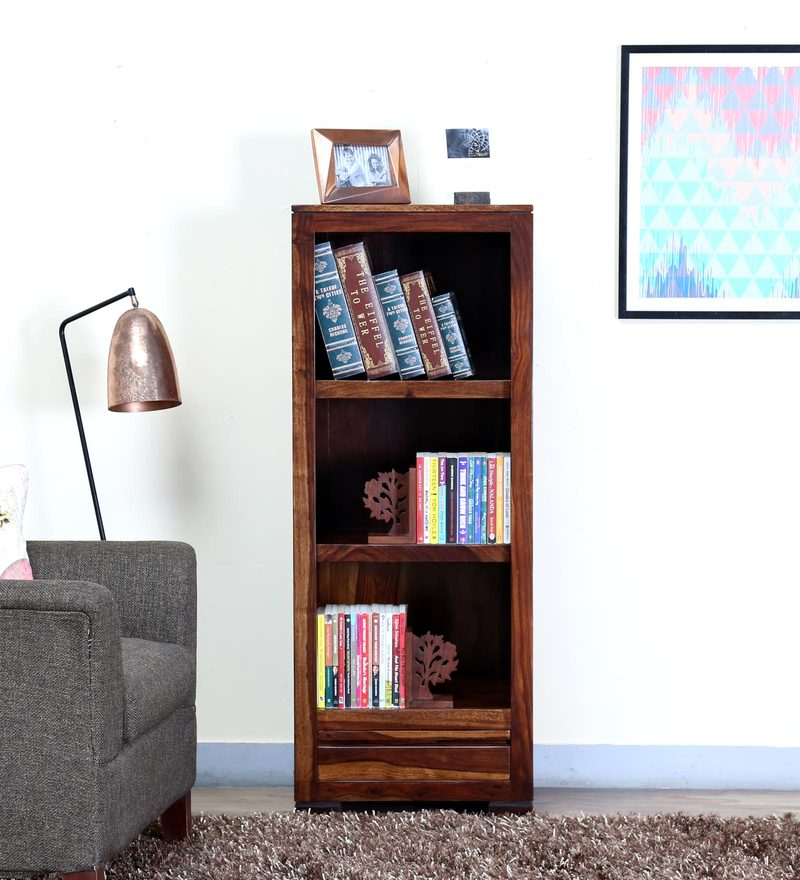Segur Book Shelf in Provincial Teak Finish by Woodsworth