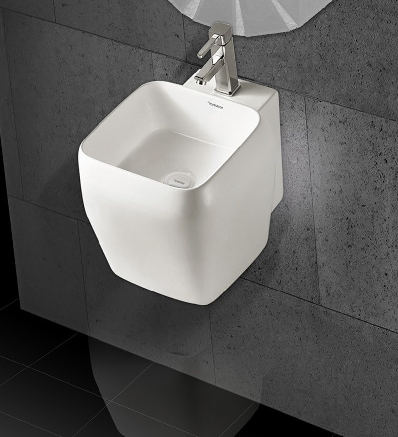 Sestones Elena Ceramic 15.7 x 18.3 x 15 Inch Basin (Model: SP 80004)
