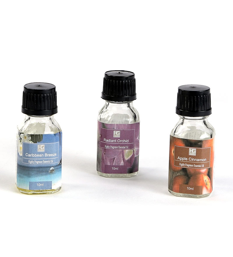 Highly Fragranced Oils - Set of 3 by Hosley