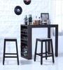 Segur Bar Set in Warm Chestnut Finish by Woodsworth