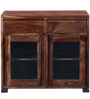 Segur Cabinet in Provincial Teak Finish by Woodsworth