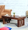 Asilo Coffee Table in Provincial Teak Finish by Woodsworth