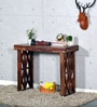 Gordon Console Table in Provincial Teak Finish by Woodsworth