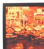 Glass, Fibre & Paper 8 x 1 x 12 Inch Colourful Banaras Framed Poster by Seven Rays