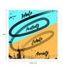 Seven Rays Paper 12 x 1 x 12 Inch Inhale Positivity Exhale Anxiety Unframed Poster