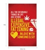 Seven Rays Paper 12 x 1 x 18 Inch All The Desirable Things In Life Unframed Poster