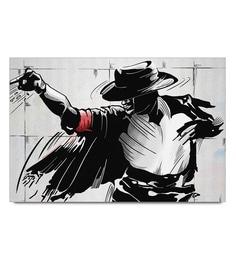 Paper 19 X 13 Inch Michael Jackson Street Art Unframed Laminated Poster