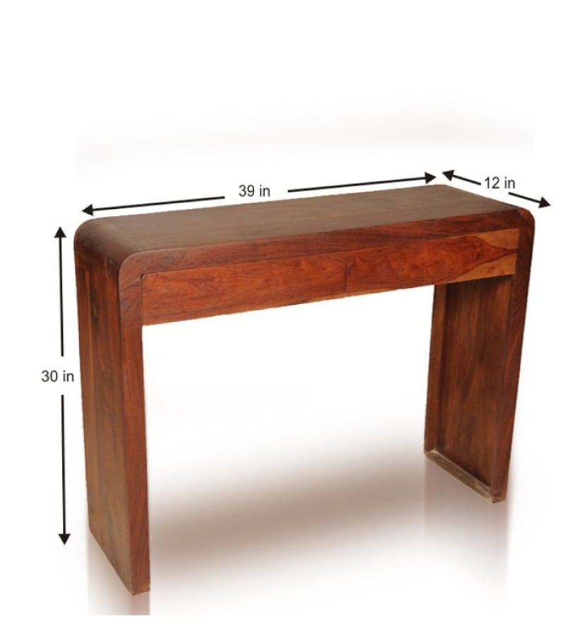 Sheesham Wood Console Table By Mudramark Online Console