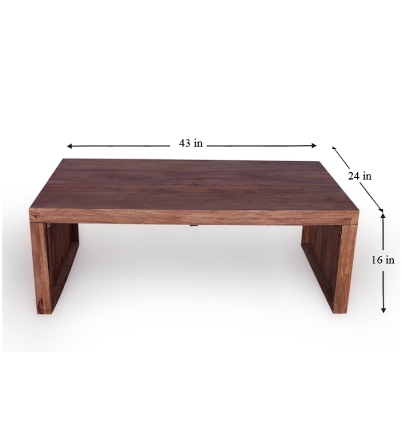 Tangier Sheesham Wood Sturdy Coffee Table By Mudramark Online Tangier Furniture Pepperfry