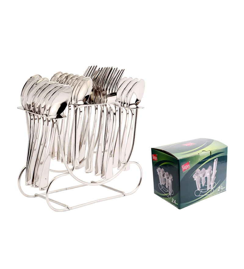 Shapes Artic Stainless Steel 25-pieces Cutlery Set