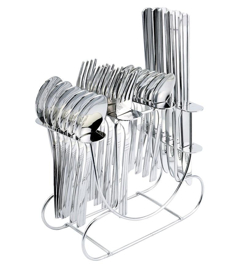 Shapes Koko Rainbow Stainless Steel 25-piece Cutlery Set