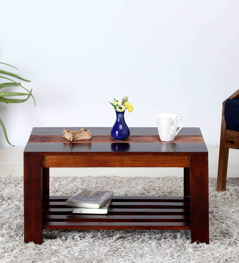 Forks Coffee Table in Dual Tone Finish by Woodsworth