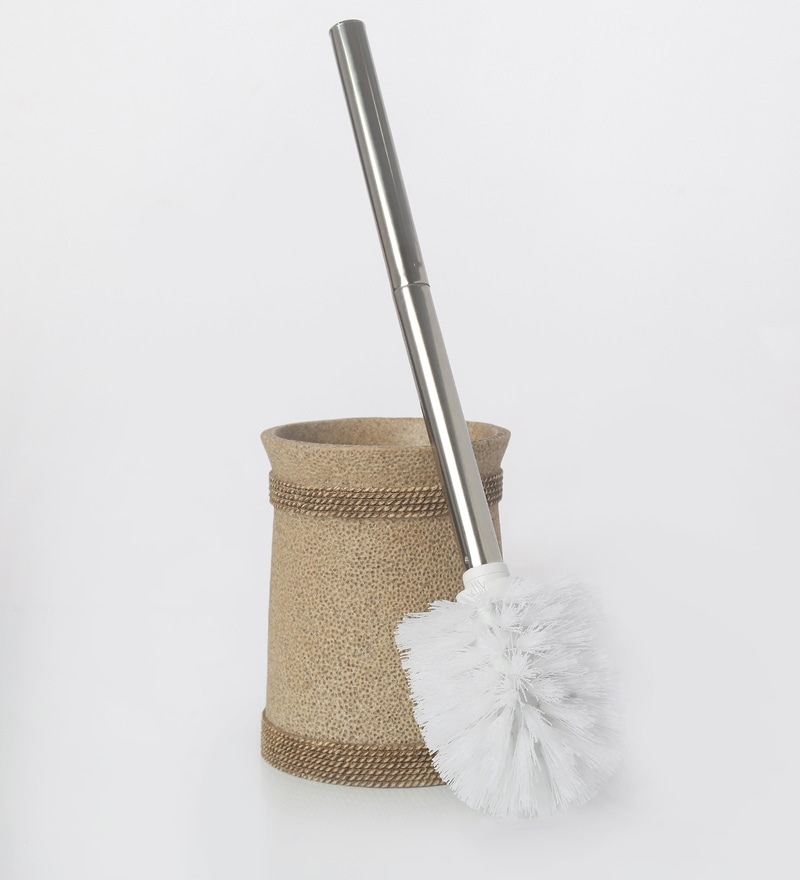 Shresmo Khaki Bathroom Brush Set