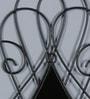 Shaz Living Black Mild Steel & Glass Mirror