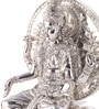 Shaze Resin with Silver Plating Laxmi Idol