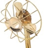 Shinexus Multicolour Metal Brass Led Fan Collectible
