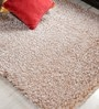 Beige Polyester Area Rug by Shobha Woollens