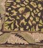Black Wool Carpet by Shobha Woollens