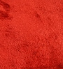 Reds Polyester Abstract Area Rug by Shobha Woollens