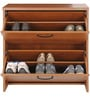 Shoe Rack Smart Natural Finish by Zuari