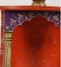 Shrinath Multicolour Mango Wood Classic Handicraft Wall Temple