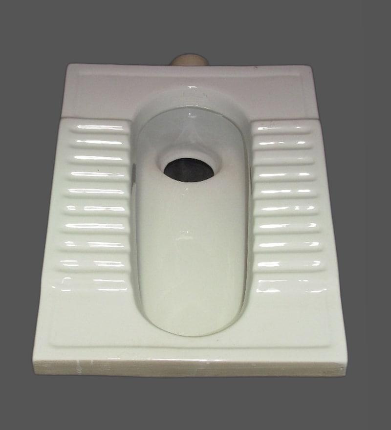 Sifon White Ceramic Urinal & Pan