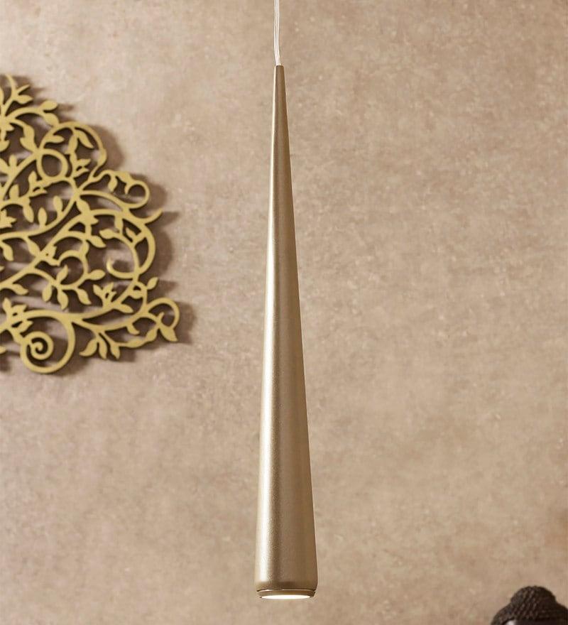 Silver Aluminium Pendant by Jainsons Emporio