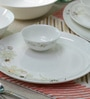 Sivica Premium Bone China Dinner Set - Set of 34