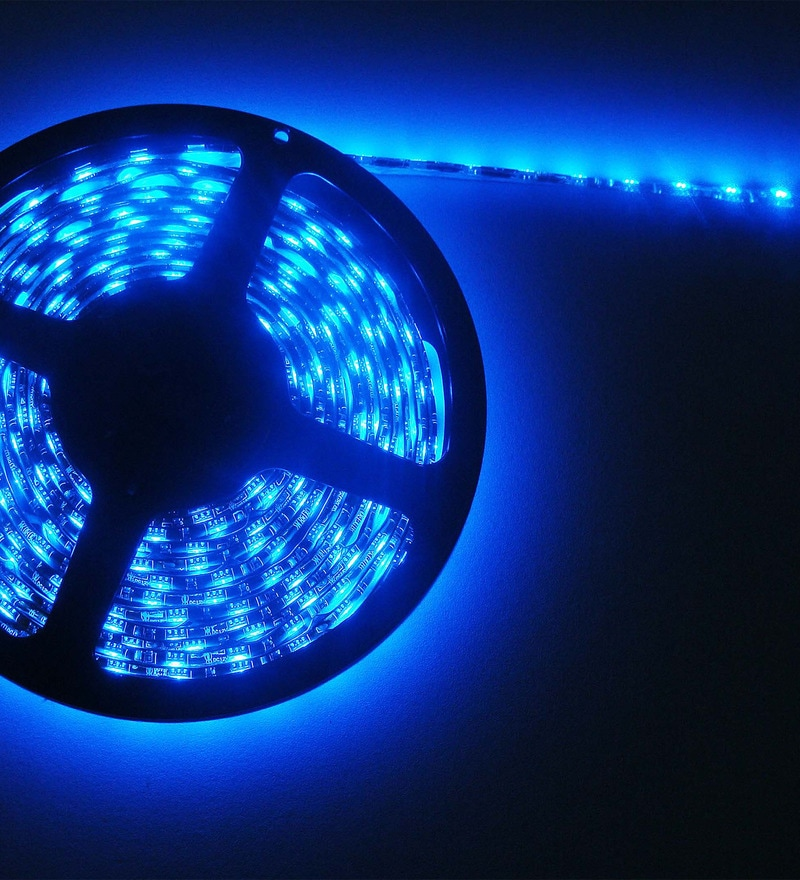 Blue Diwali LED Strip Light by Skycandle