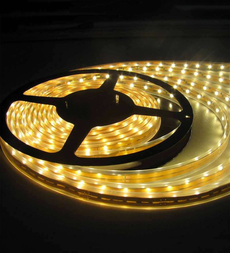 Yellow Diwali LED Strip Light by Skycandle