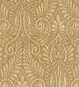 Brown Viscose Extra Long Window Curtain by Skipper