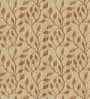 Skipper Brown Viscose Floral Extra Long Window Curtain
