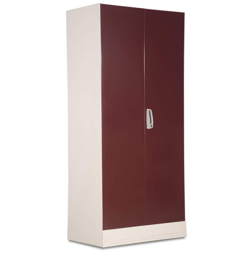 Buy Slimline Two Door Wardrobe with Locker in Russet Color  : slimline two door wardrobe with locker in russet color by godrej interior slimline two door wardrobe pv8pif from www.pepperfry.com size 800 x 880 jpeg 12kB