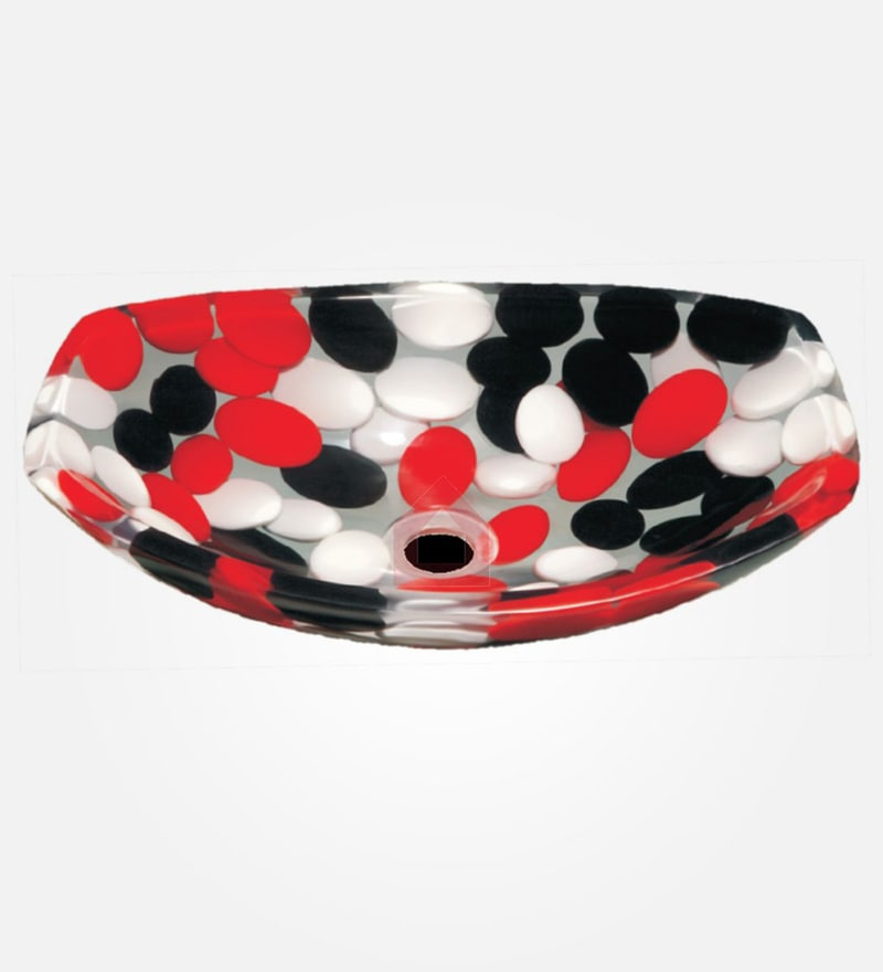 SNB Multicolour Resin Wash Basin ( Model: 230 )