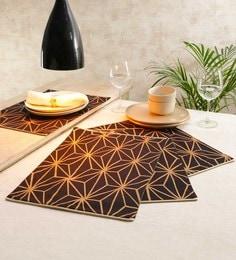 Solaj Multicolour Cotton Table Placemats - Set Of 4 - 1667181