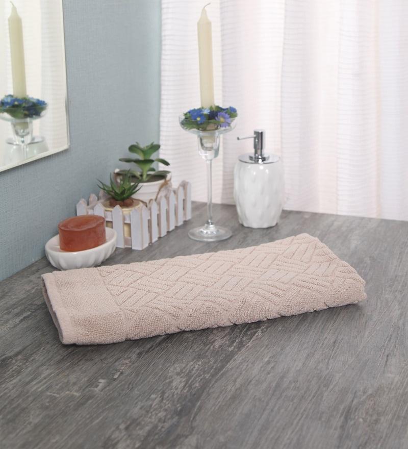 Beige 100% Cotton 20 x 28 Bathmat by Softweave