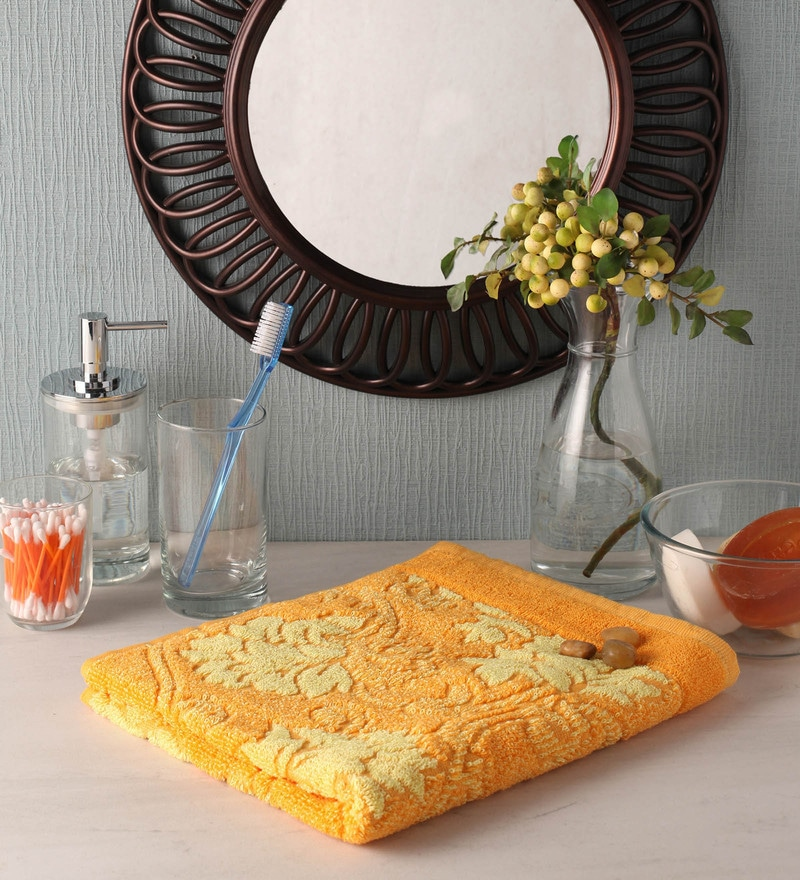 Golden Cotton 35 x 20 Hand Towel by Softweave