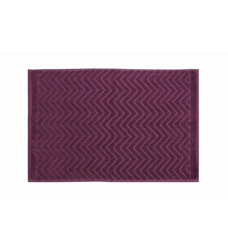 Purple 100% Cotton 16 X 24 Hand Towel by Softweave