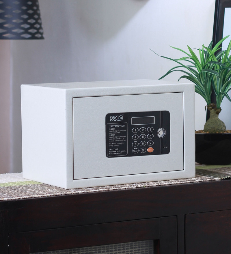 Solo Alfa Series Steel 12 L Electronic Safe