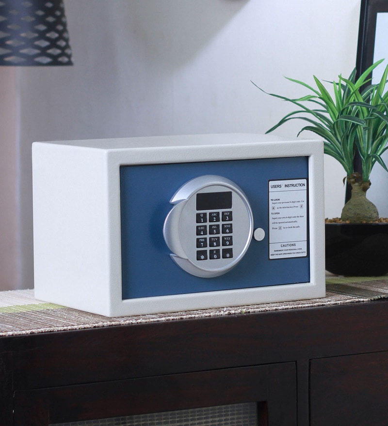Solo Zeris Series Steel 12 L Electronic Safe