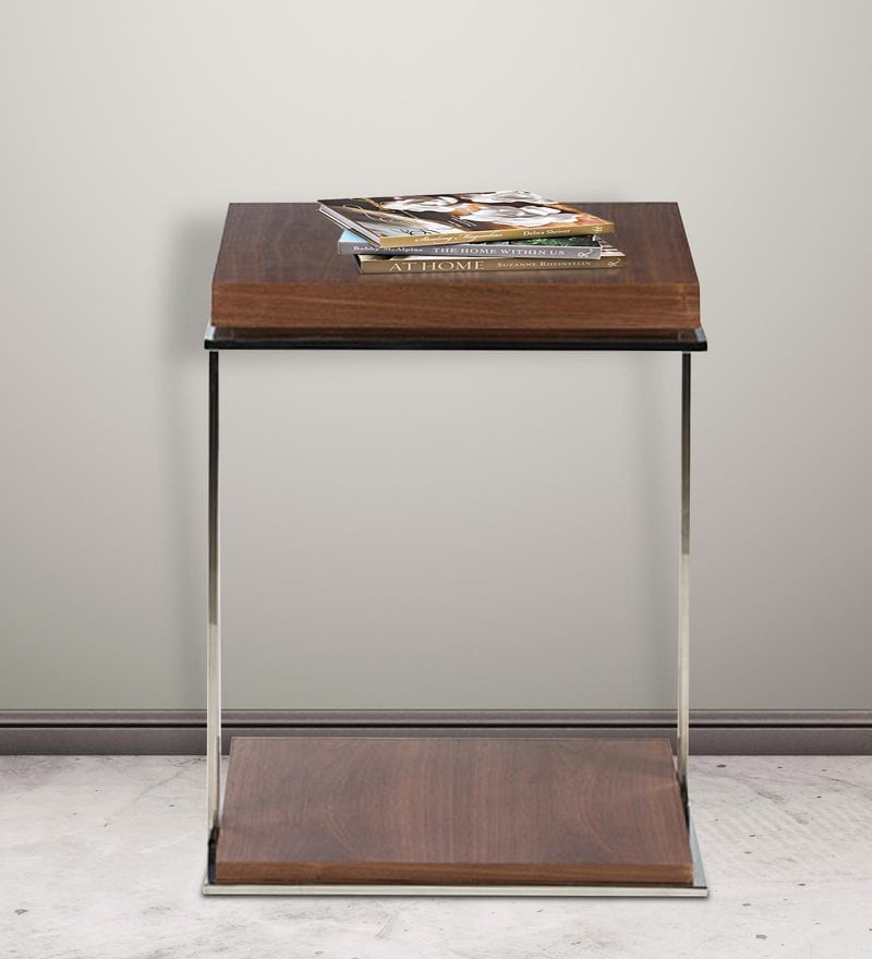 Somerville End Table in Brown Colour by HomeHQ