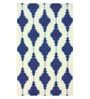 Sofiabrands Navy Wool 60 x 96 Inch Modern Carpet